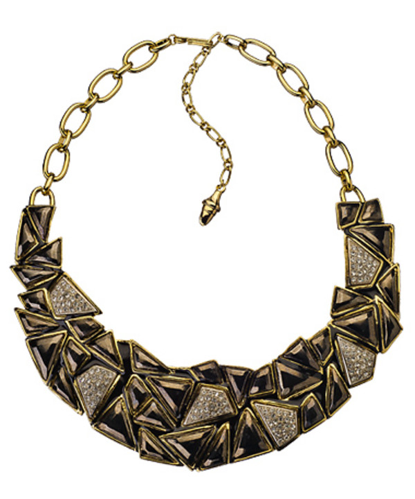 jewels kenneth jay lane rocky road bib necklace necklace