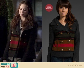 coat pretty little liars spencer hastings