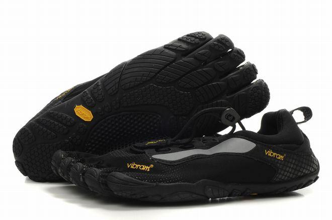5 fingers bikila ls black running sneakers for men