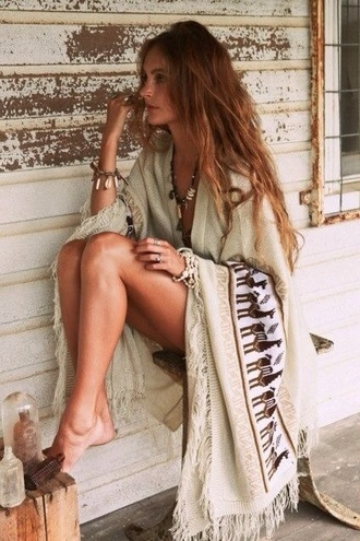 cardigan boho boho\ hipster hippie native american poncho