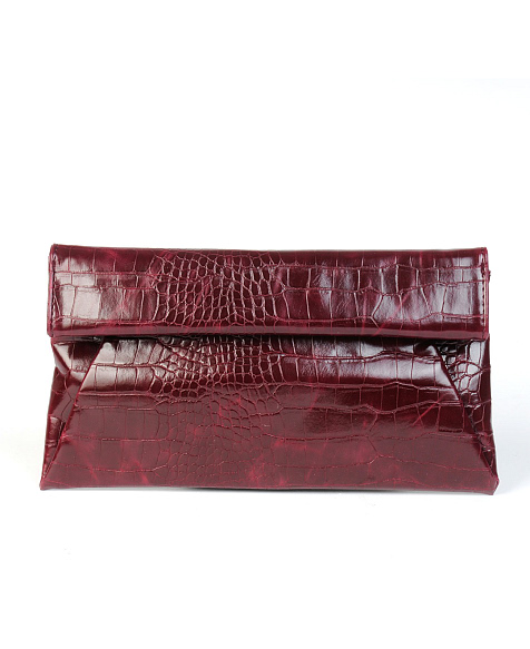 Urban expressions crocodile clutch