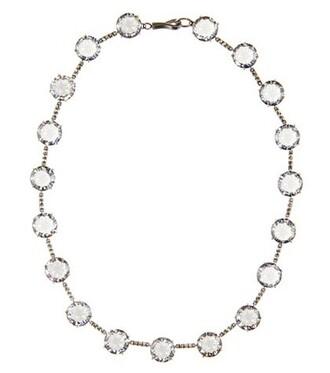 embellished necklace silver jewels