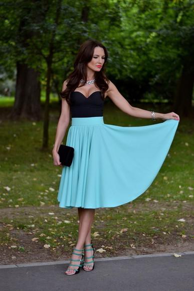 my silk fairytale skirt shoes bag
