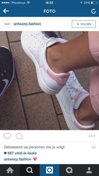 shoes pink shoes adidas originals stan smith