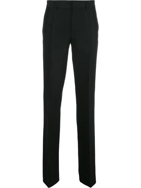 Dsquared2 women black silk wool pants