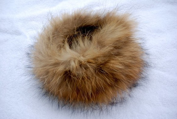 autumn, winter scarf fur collar smart
