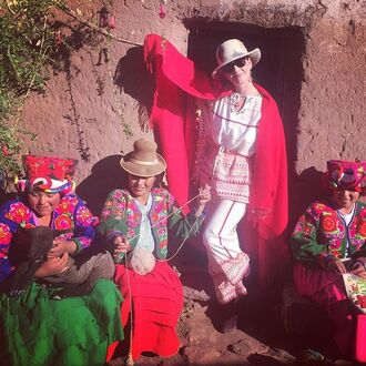 katy perry hat poncho peru made in peru style