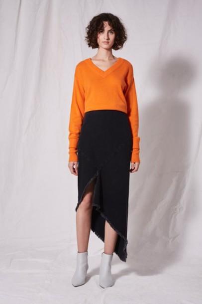 Topshop skirt denim skirt denim black