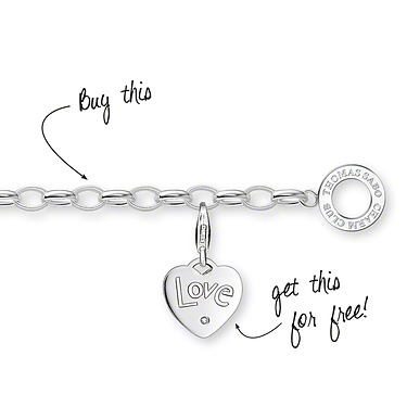Thomas Sabo Charm carrier X0032-001-12