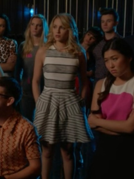 glee dress diana agron