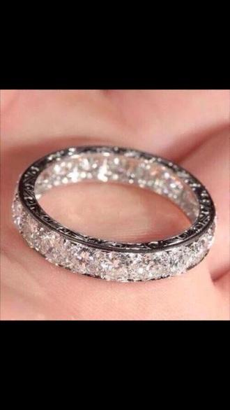 nail accessories ring diamonds