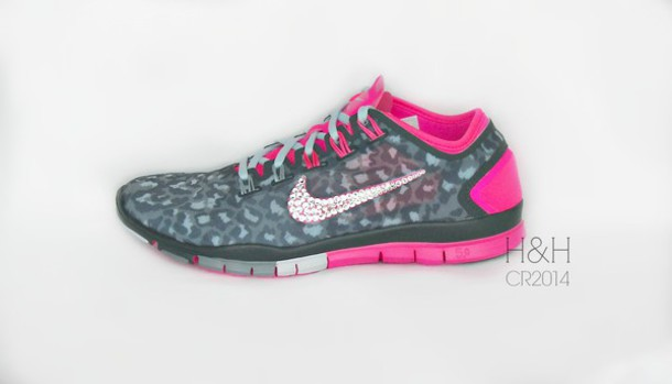 nike running shoes bling nike blingy bling shoes glitzy nike trainers with  swarovski tick nike running b5770fbb5012