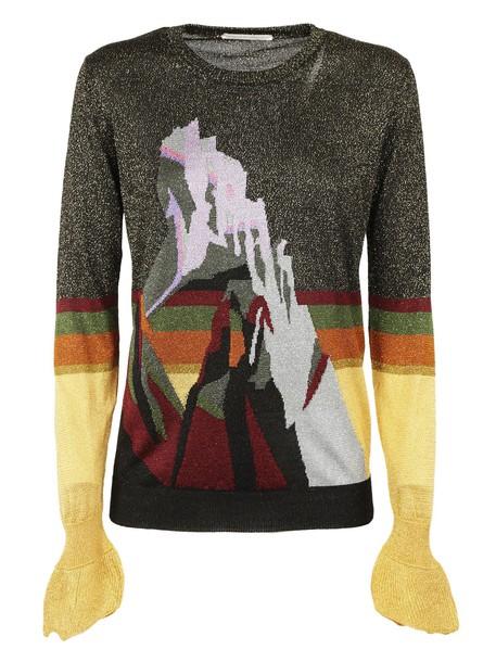 Marco De Vincenzo jumper jacquard multicolor sweater