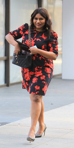 Shoes Mindy Kaling Floral Floral Dress Wheretoget
