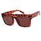 My muse flat top leopard sunglasses