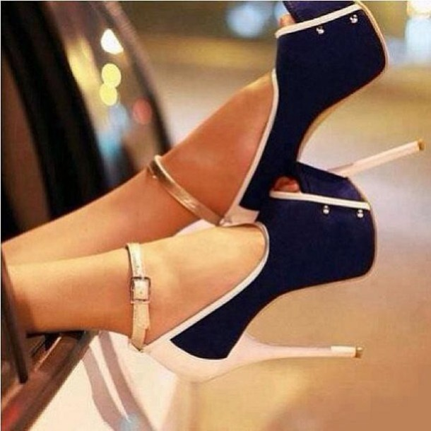 open toes high heels platform high heels strappy sandals navy gold rose gold nude high. Black Bedroom Furniture Sets. Home Design Ideas