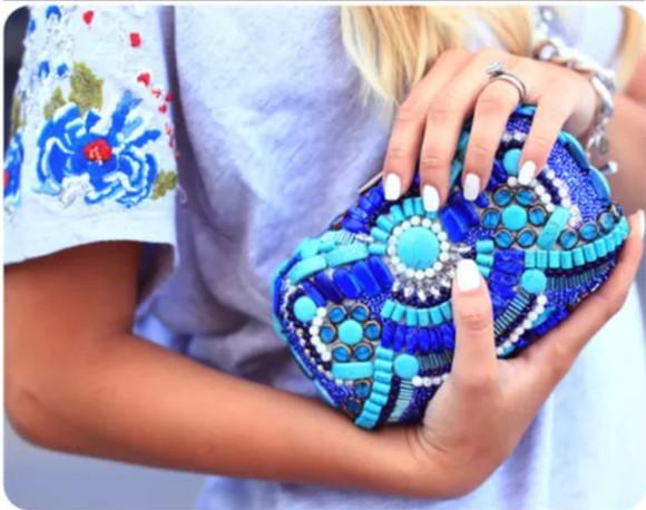 bag clutch pearls diy? clutch handbag little bag
