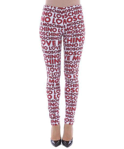 LOVE MOSCHINO leggings pants