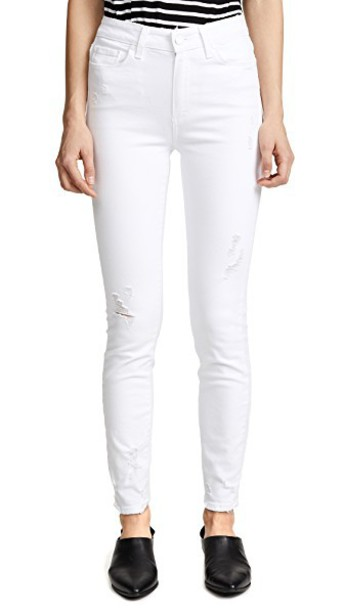 Paige jeans skinny jeans white