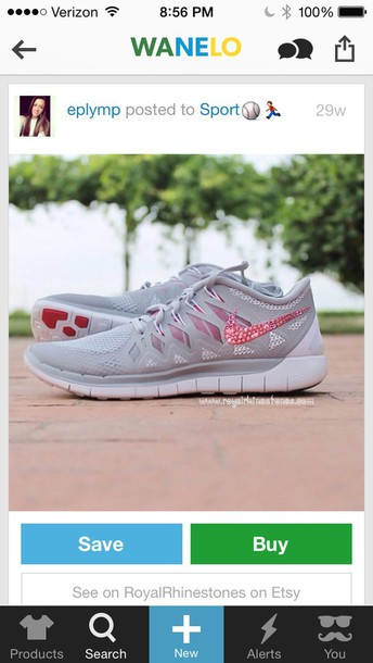 shoes gray and pink nike free 5.0
