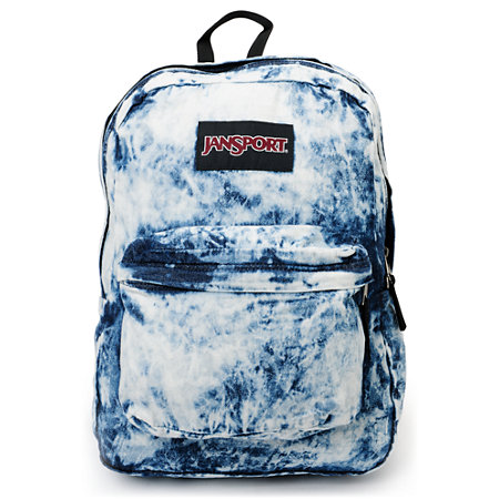 Jansport Denim Daze Acid Blue Backpack at Zumiez : PDP