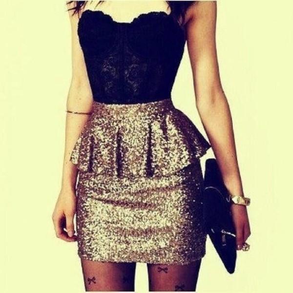 dress classy skirt