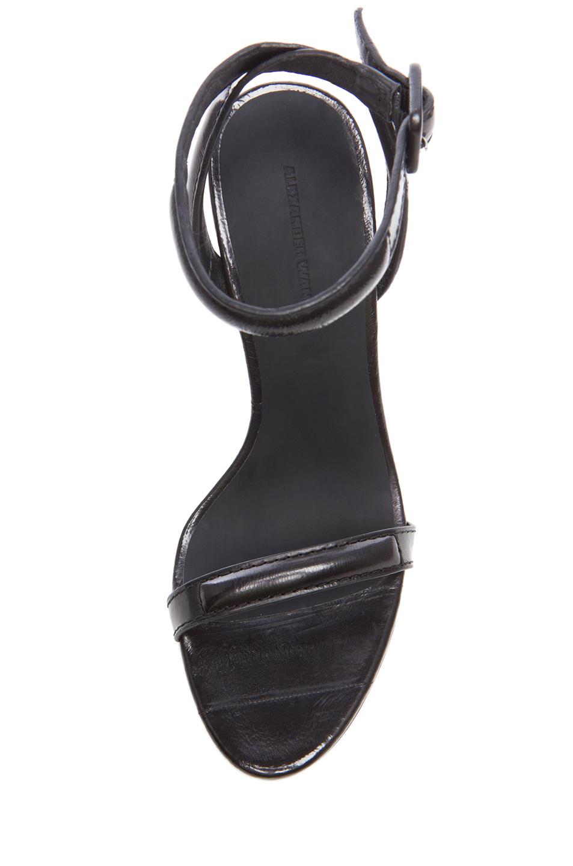 Alexander Wang|Antonia Leather Heels in Black