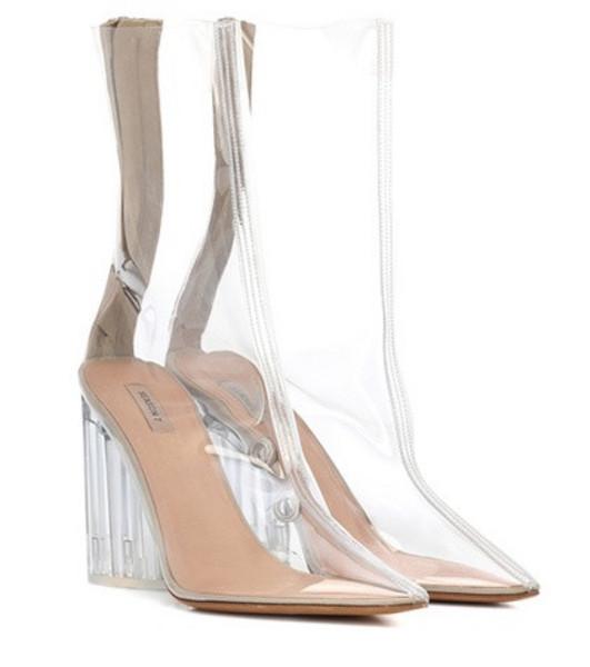 Yeezy PVC ankle boots (SEASON 7) in neutrals