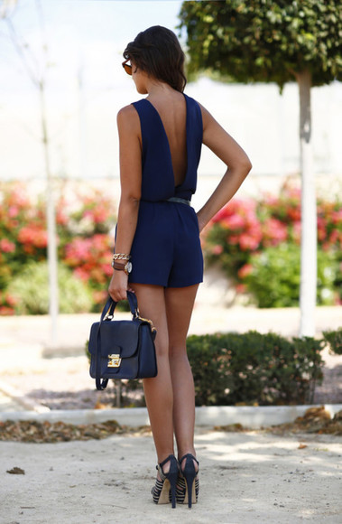 bag sunglasses jumpsuit blue top blue jumpsuit blue dress navy high heels navy bag belted playsuit blue skirt blue playsuit navy blue navy dress heels, pumps, red, shoes, high heels, crystal,pump,heels,hight heels,red sole,shinny, sparkle, glitter heels.nightclub heels, belted dress Belt