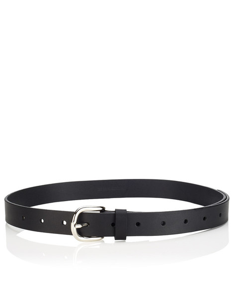 classic belt leather black black leather