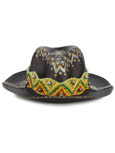 gypsy king hat black