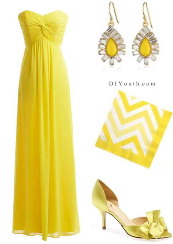 bridesmaid wedding wedding dress bridesmaid 2014 wedding dresses 2014 wedding gowns beach wedding dress yellow yellow dress fashion fashion trends clours dress summer dress summer outfits