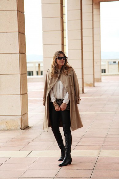 my daily style blouse bag sunglasses blogger