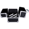 Aluminum rolling makeup case salon artist cosmetic organizer train case new | ebay
