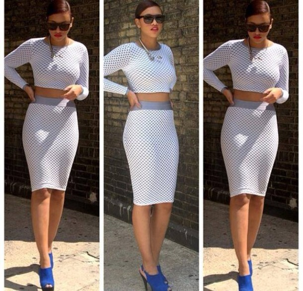 skirt suit outfit