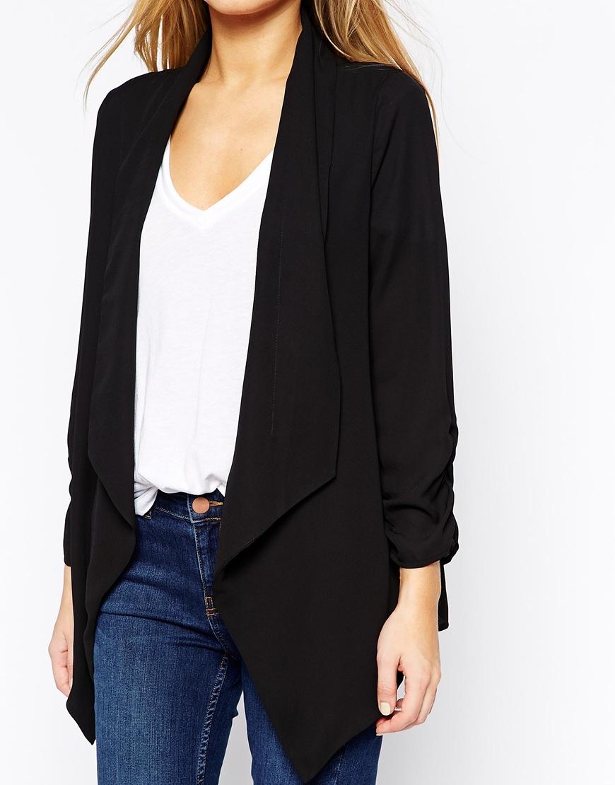 Oasis drape blazer at asos.com