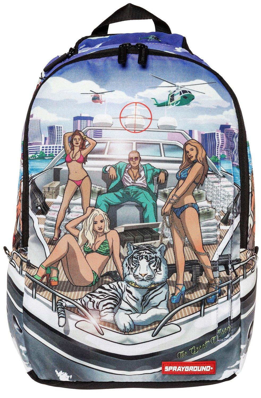 Amazon.com: sprayground 305 yacht backpack multi