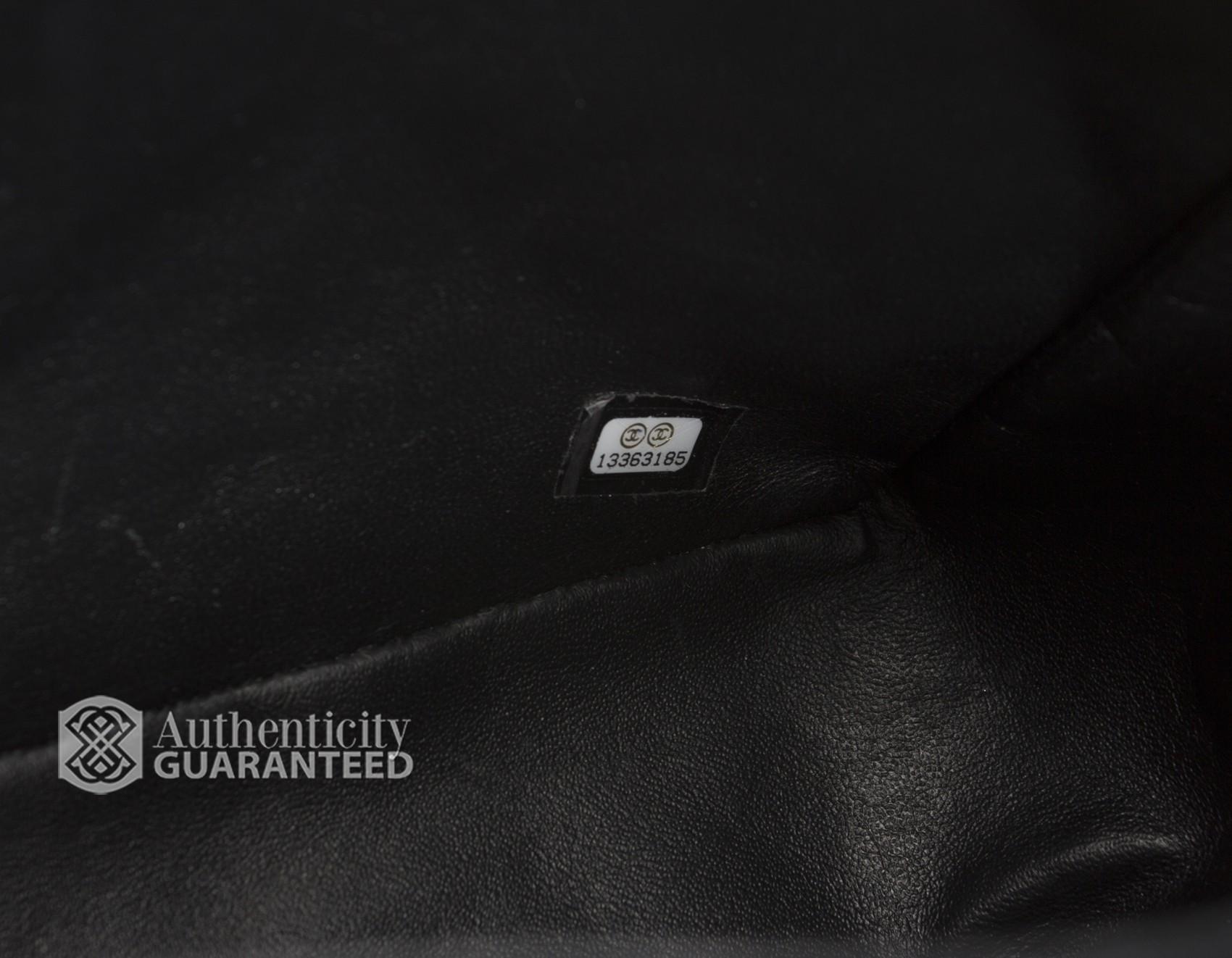 Chanel Black Caviar Maxi Flap Bag