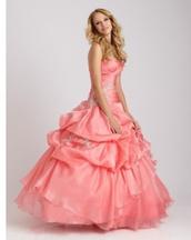 dress,prom dress,ball gown dress,pink