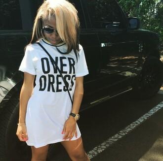shirt dress t-shirt cute dress cute top jayda ayanna cheaves amourr jayda dope shirt dope freshtops