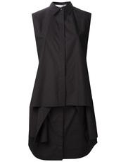 dress,alexander wang,shirt dress,black dress