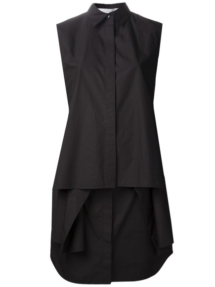 dress shirt dress alexander wang little black dress