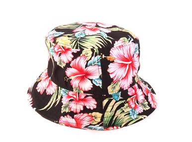 04ba20e8b1d Black tropical bucket hat - Dream But Do Not Sleep Clothing