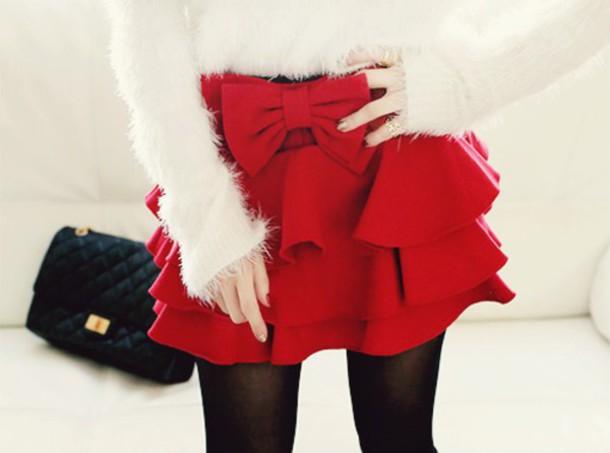 skirt sweater