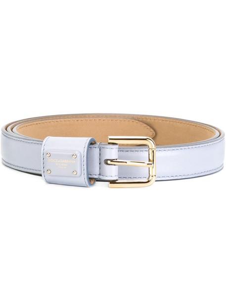 Dolce & Gabbana classic belt blue
