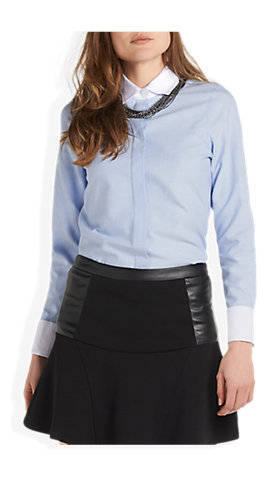 Basic Blouse Lichtblauw - Costes Fashion