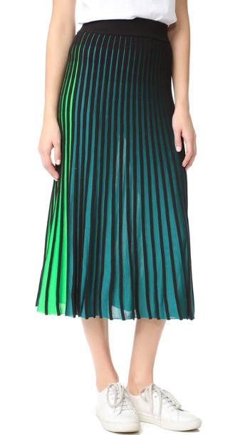 Kenzo Ribbed Skirt - Midnight Blue