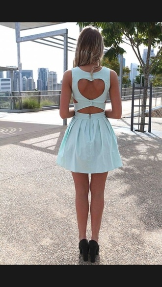 dress min gree cut-out dress