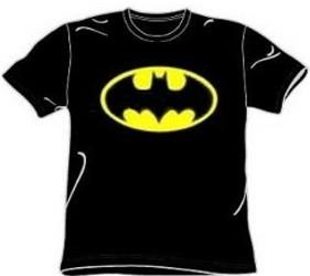 Classic batman logo t