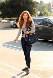 sweater,pants,bella thorne,fall outfits
